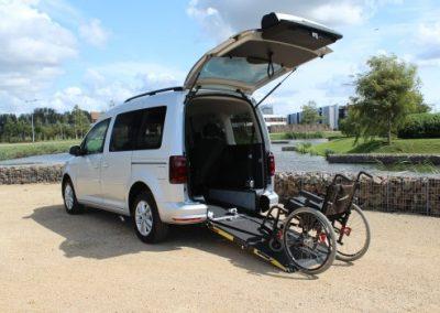 Bierman Caddy Rollstuhlmitfahrer
